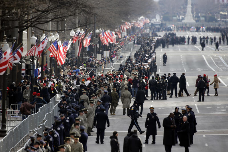 Special interests gather for own inaugural parties