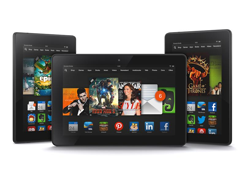 How new 7-inch Kindle compares with smaller rivals