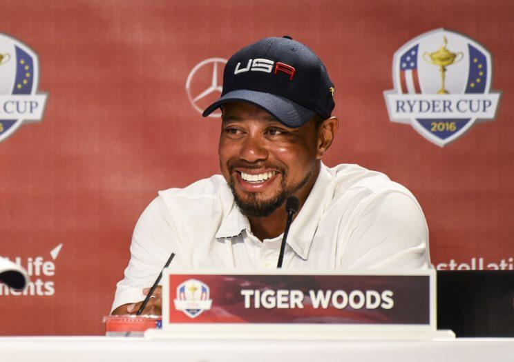 Tiger Woods reviews the golf games of Presidents, jokes about Trump — WATCH