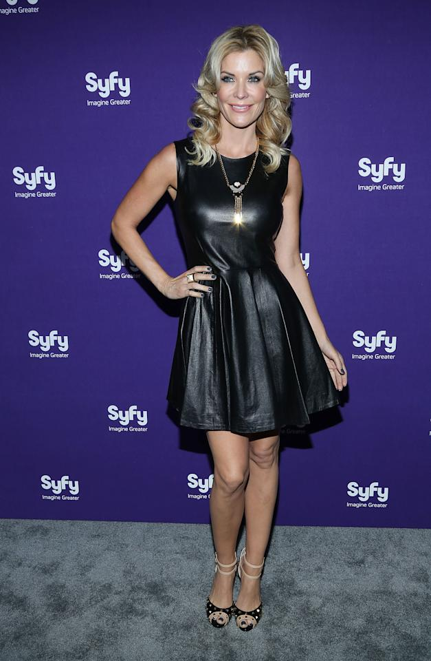 """NEW YORK, NY - APRIL 10:  McKenzie Westmore of """"Face Off"""" attends Syfy 2013 Upfront at Silver Screen Studios at Chelsea Piers on April 10, 2013 in New York City.  (Photo by Rob Kim/Getty Images)"""