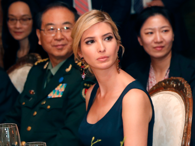 Manufacturer says it's removing relabeled Ivanka Trump items
