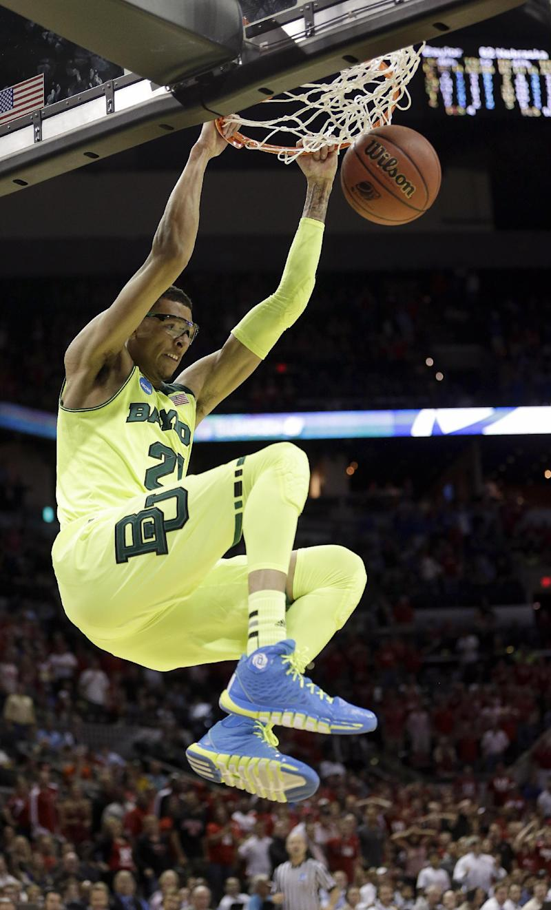 Baylor advances, Nebraska's Miles ejected in loss