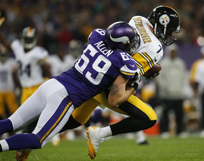 Allen, others likely face last game with Vikings