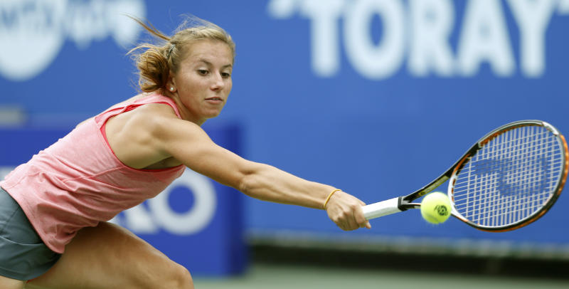Kerber advances to 3rd round at Pan Pacific Open