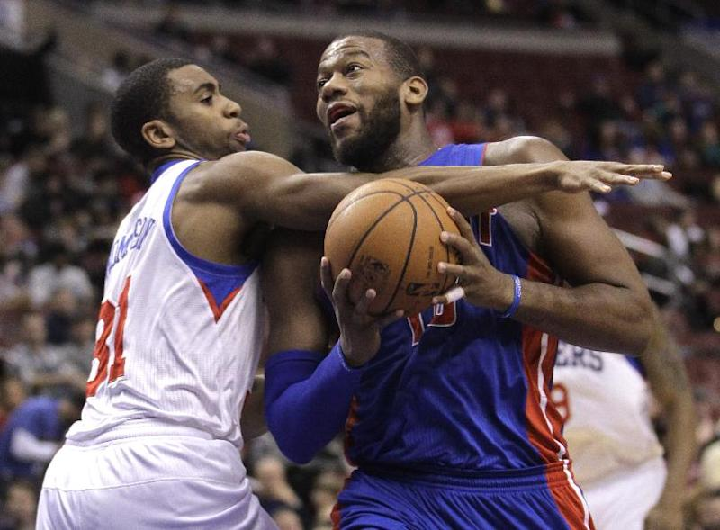 Pistons rally past Sixers 114-104 to end skid