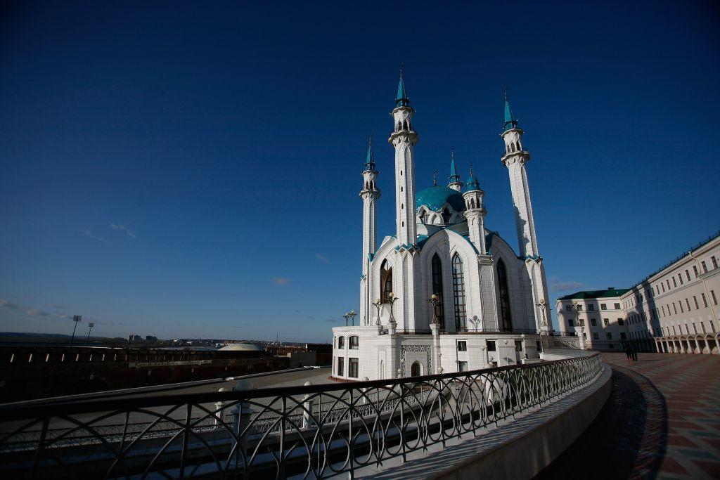 <p>KAZAN, RUSSIA: The Qolsharif Mosque in the Kazan Kremlin in Kazan, Russia. At the time of its original construction in the 16th century, it was believed to be the oldest mosque in Europe outside Istanbul. Named after Qolsharif, a religious scholar and Imam of the Khanate of Kazan, who died in 1552 defending the mosque against Russian forces of Ivan the Terrible. It was rebuilt and inaugurated in 2005. Kazan is in Tatarstan, a federal subject of Russia in the Volga Federal District.</p>