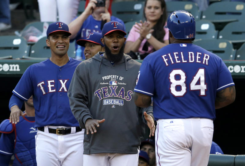 Fielder homers and Rangers beat Mexican team 7-4