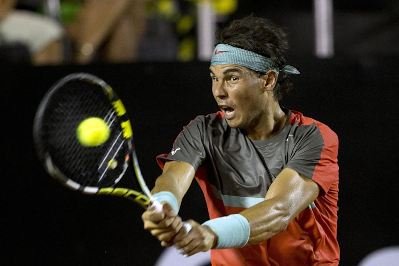 Nadal is cautious in return following back injury