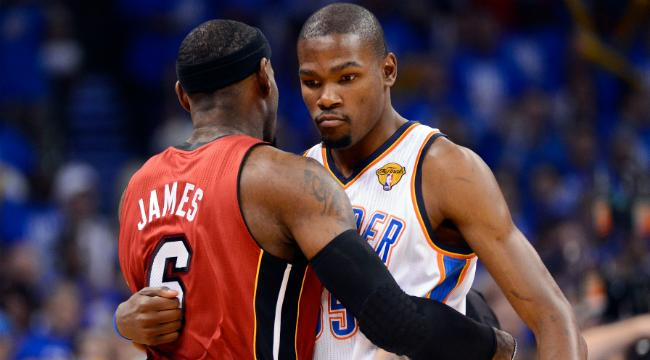 Kevin Durant's Respect For LeBron James Was Taken To 'Another Level' During The 2012 Finals