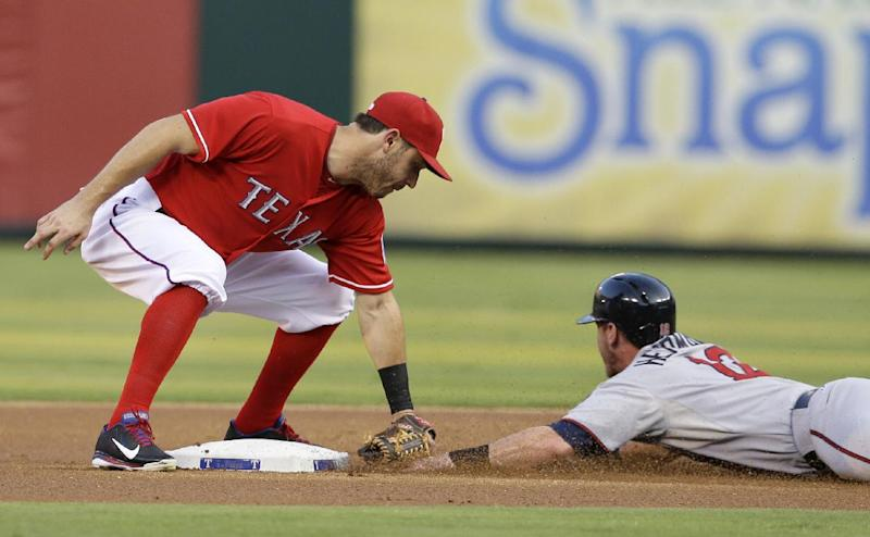 Rangers slip past Twins 2-1 in the 9th