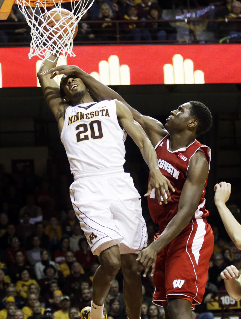Gophers likely miss Hollins for at least 2 games
