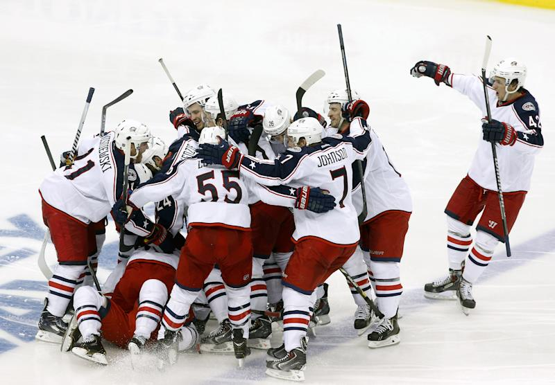 Blue Jackets Win iIrIal