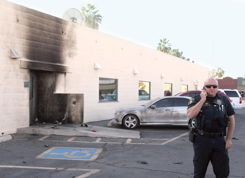 Man charged in Arizona Social Security explosion