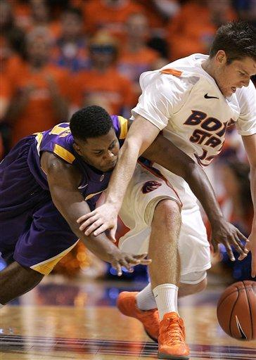Drmic leads Boise State to 89-70 win over LSU
