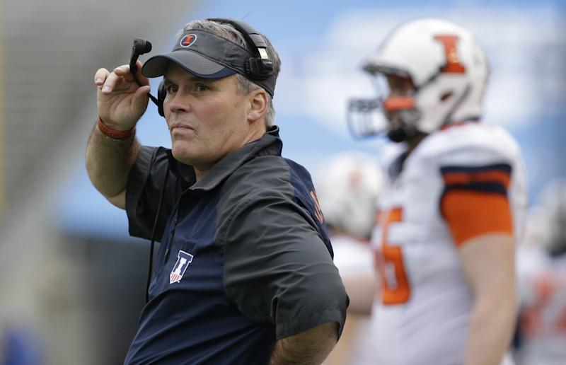 Ex-Illini coach Beckman out as volunteer assistant at UNC