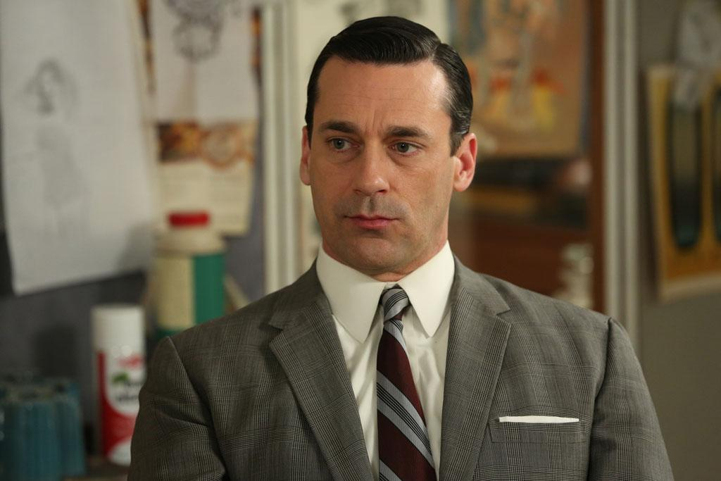 """Don Draper (Jon Hamm) in the """"Mad Men"""" episode, """"Man With a Plan."""""""