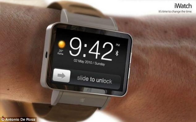 """<p>Antonio De Rosa's iWatch concept maintains much of the functionality of the iPhone, including 'Slide to Unlock' as shown in this picture.</p> <p>For more of De Rosa's designs, visit: <a href=""""http://www.adr-studio.it/site/?page_id=14&album=1&gallery=49"""" target=""""_blank"""">http://www.adr-studio.it/site/?page_id=14&album=1&gallery=49</a></p>"""