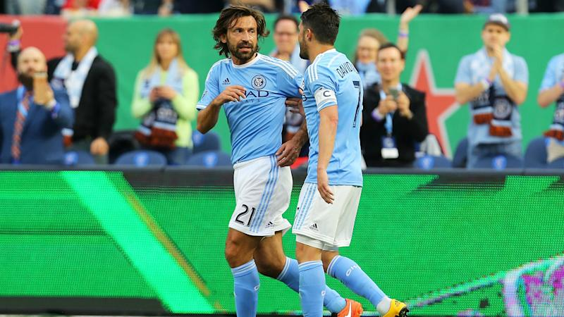 Harrison, Villa score; NYCFC beats winless Union 2-0