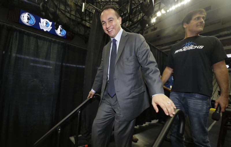 Mavs' GM steps down just 3 months into new job