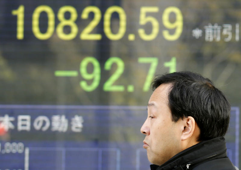World stocks tentative amid US debt impasse
