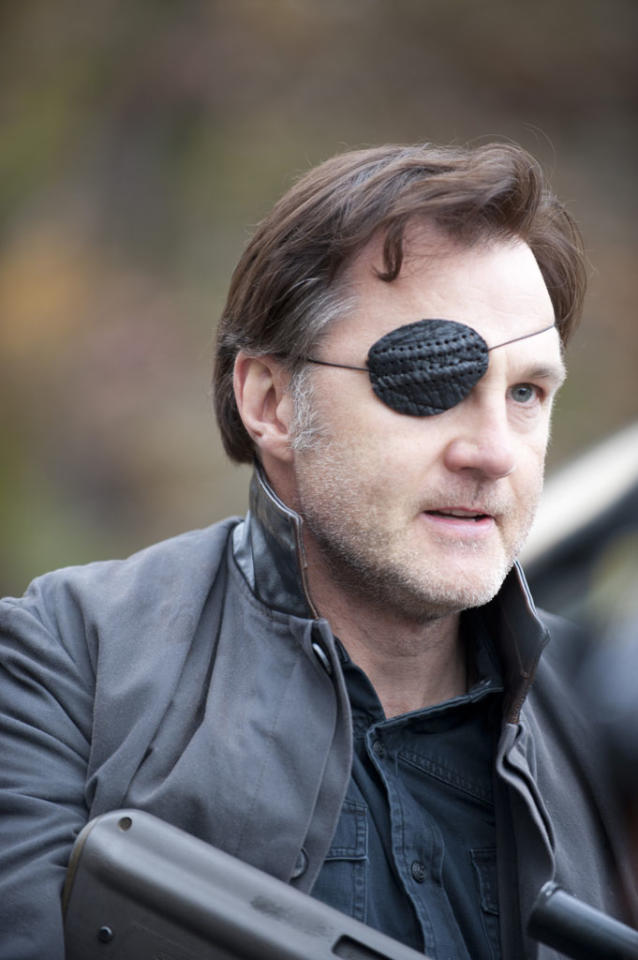 """The Governor (David Morrissey) in """"The Walking Dead"""" Season 3 Finale, """"Welcome to the Tombs."""""""