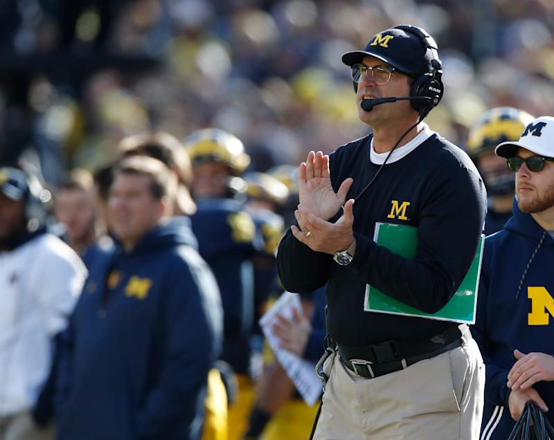 MI  fans name baby 'Harbaugh,' get shout out from Jim