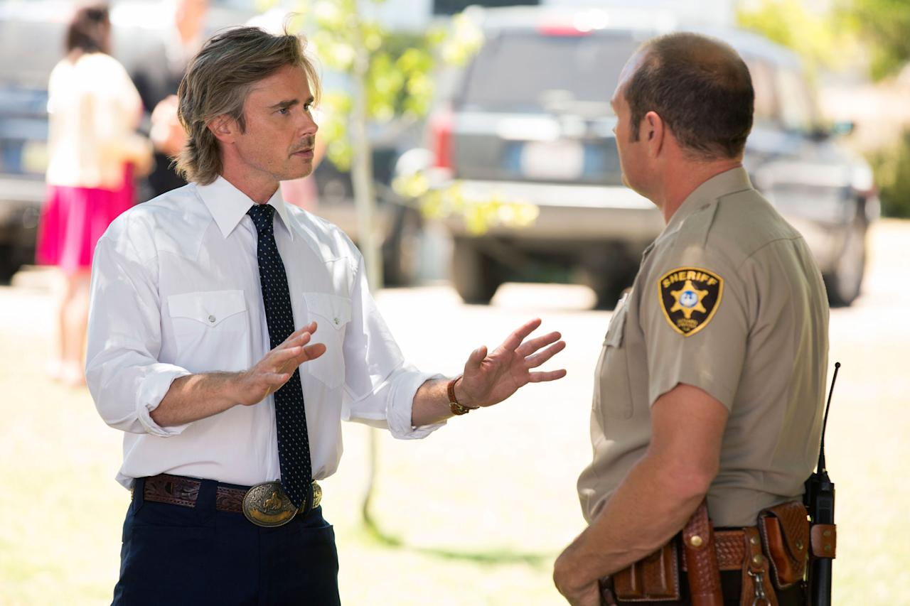 "Sam Trammell and Chris Bauer in the ""True Blood"" Season 6 episode, ""Radioactive."""
