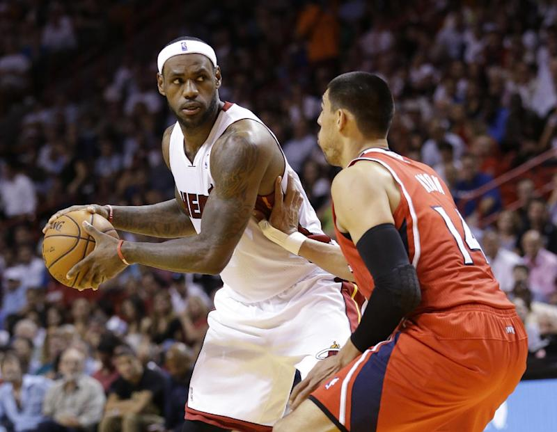 LeBron on MLS in Miami: 'We're working on it'