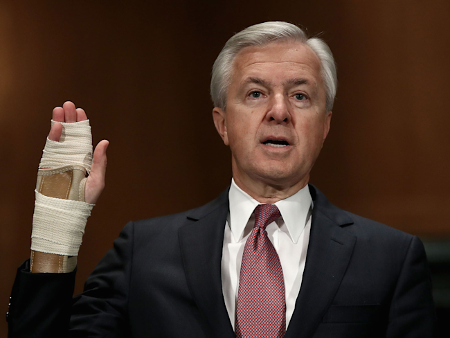 Wells Fargo board 'claws back' $75 million from former executives