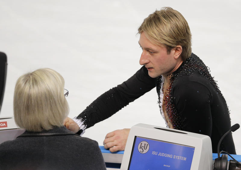 Plushenko on thin ice after Olympic dropout