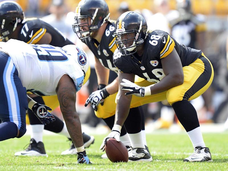 Beachum a quick study at center for Steelers