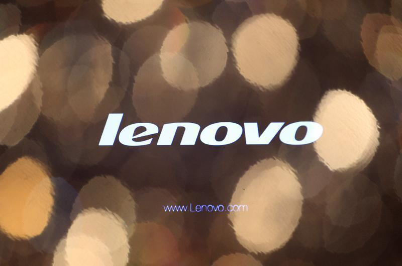 The logo of Lenovo is seen on a computer monitor during a news conference in Hong Kong May 27, 2010. REUTERS/Tyrone Siu