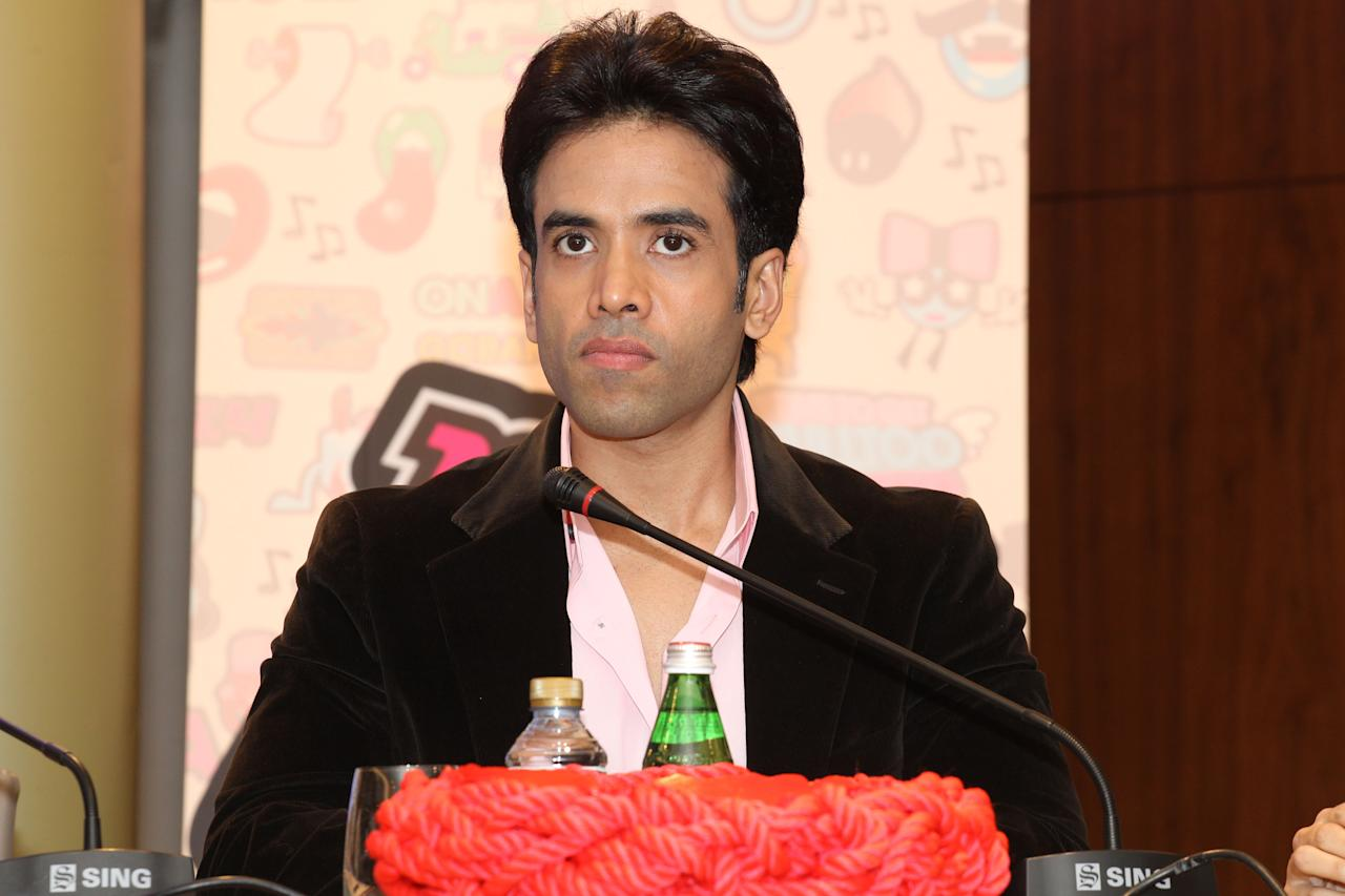 Tushar Kapoor talks about playing the role of Sheik Munir in the upcoming film. Sanish Cherian/Yahoo! Maktoob