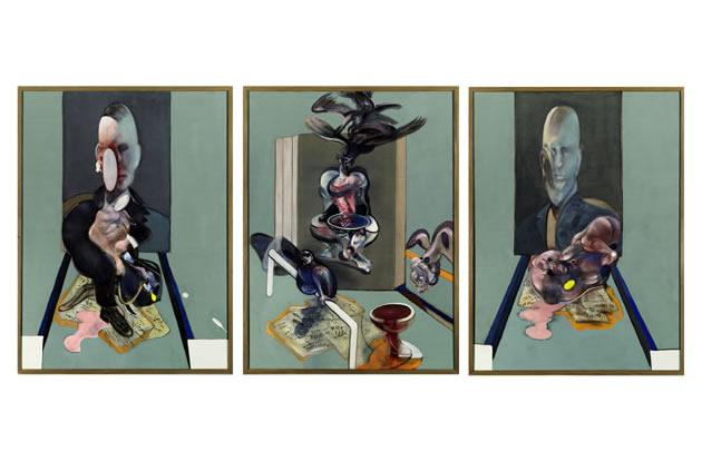 """Triptych, 1976"" by Francis Bacon, $86.3 million"