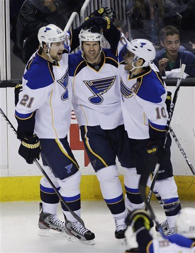 Blues beat Sharks 4-3 in Game 3 to take 2-1 lead