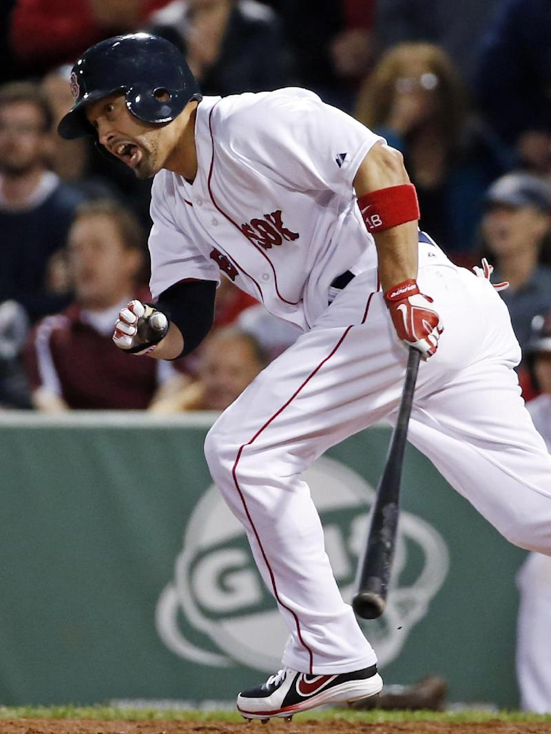 Victorino on DL for Red Sox; Ortiz, Napoli out