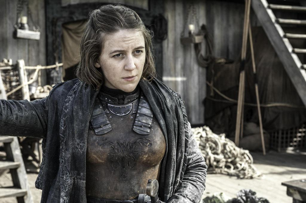 "Gemma Whelan in the ""Game of Thrones"" Season 3 finale, ""Mhysa."""