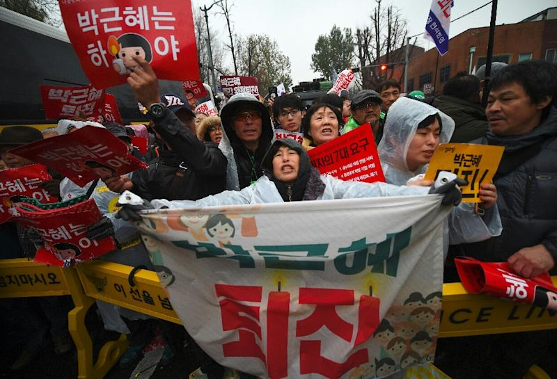 Bill to impeach Park filed in ROK