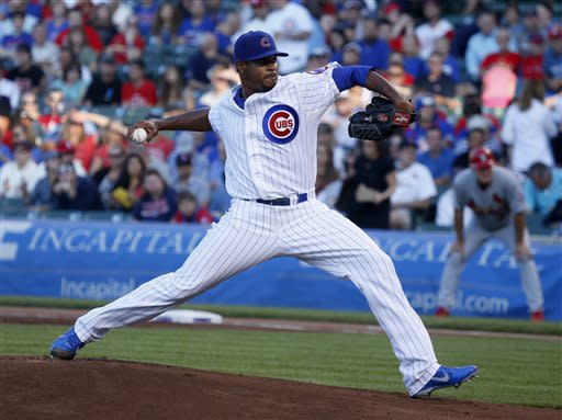 Jackson, Rizzo lead Cubs over Cardinals, 3-0