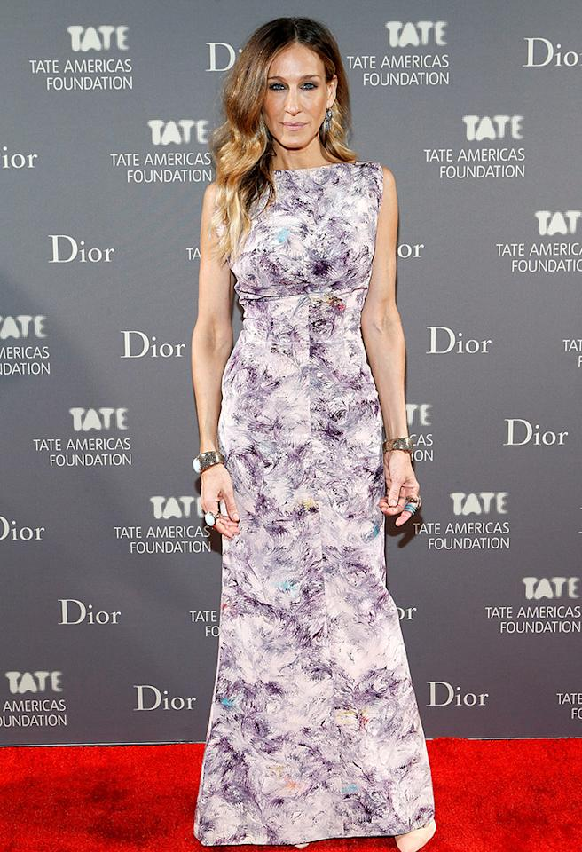 NEW YORK, NY - MAY 08:  Sarah Jessica Parker attends the 2013 Tate Americas Foundation Artists Dinner at Skylight Studios at Moynihan Station on May 8, 2013 in New York City.  (Photo by John Lamparski/WireImage)