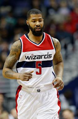 Markieff Morris is expected to give the Wizards a lift. (Getty Images)