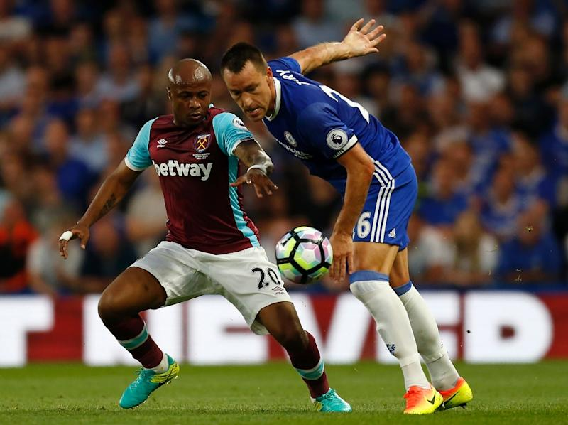 West Ham's Ayew facing lengthy spell on the sidelines