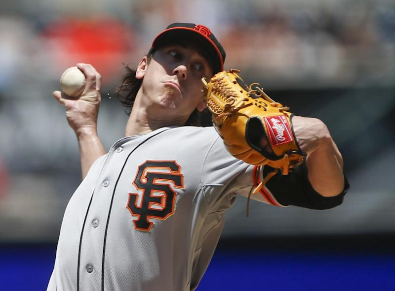 Lincecum whips Padres again in Giants' 5-3 win
