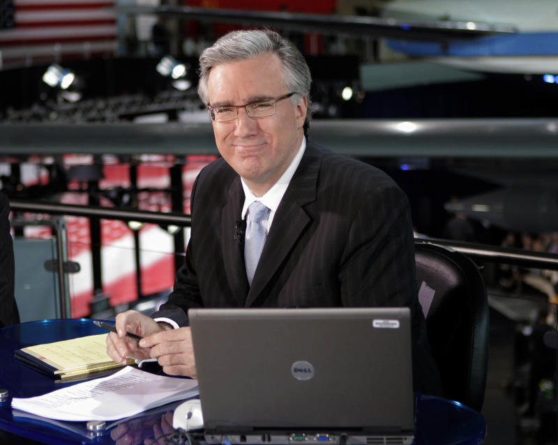 Keith Olbermann ousted from Current TV talk show