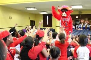 "Songhai Elementary Scores Big as BMO Harris Bank and Chicago Bulls' 2012-2013 ""Adopt-A-School"" Partner"