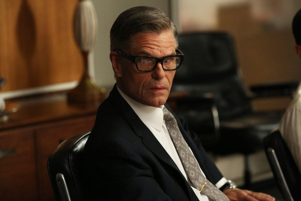 """Jim Cutler (Harry Hamlin) in the """"Mad Men"""" episode, """"A Tale of Two Cities."""""""