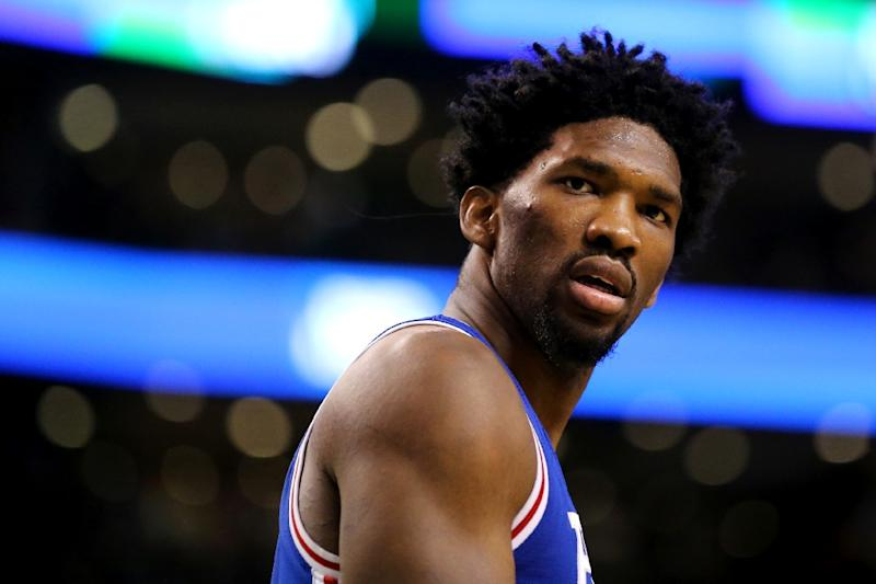 Joel Embiid says the Sixers 'have a chance' to make the playoffs