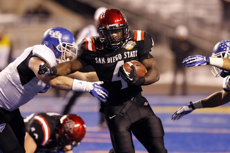 San Diego St routs Buffalo 49-24 in Potato Bowl