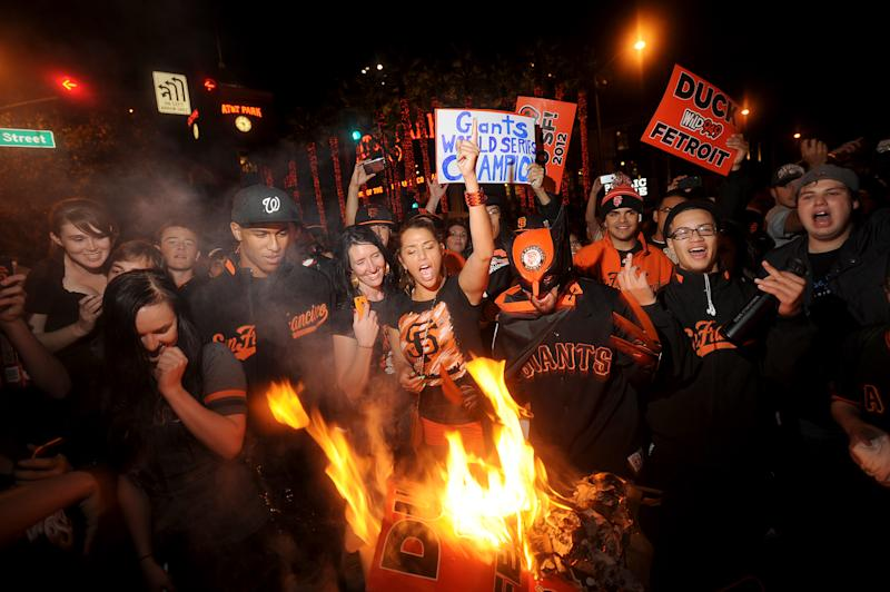San Francisco gets ready for Giants' parade