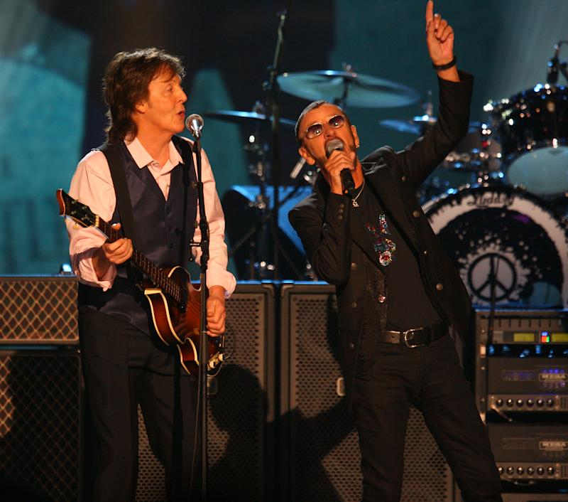 Stars line up to pay tribute to The Beatles